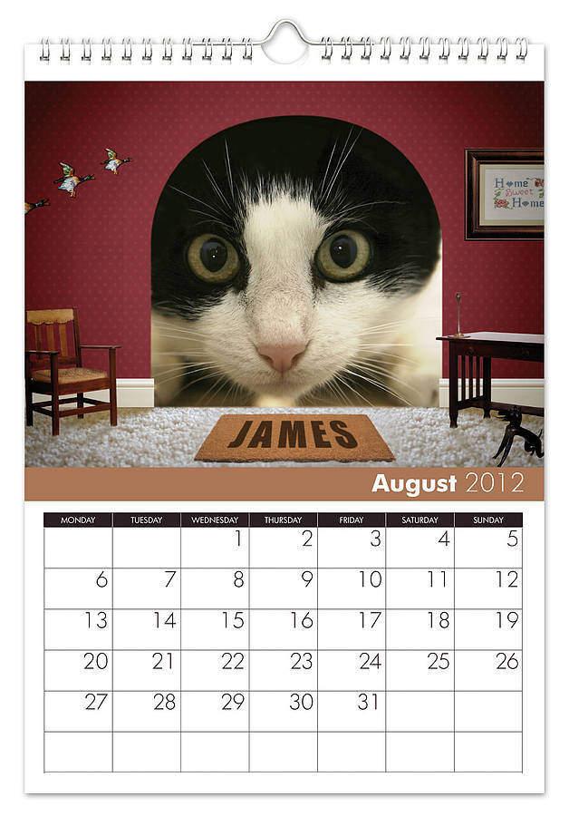 Calendar personalizat 2016 de birou sau de perete